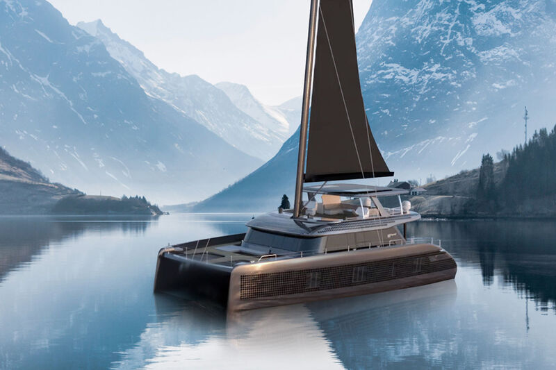 Solar Panel-Covered Yachts