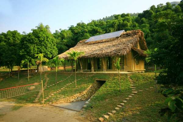 Earthy Green Houses : village-home-pictures - designwebi.com