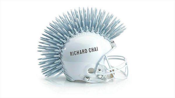 Haute Couture Football Helmets