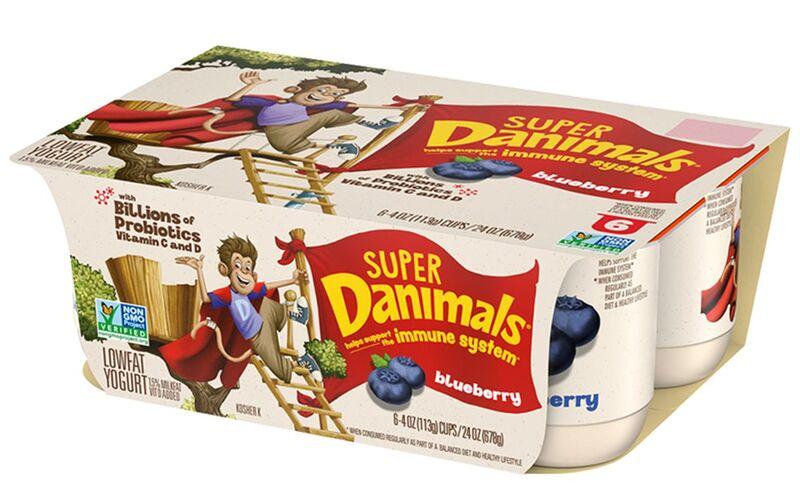 Probiotic-Rich Child Yogurts