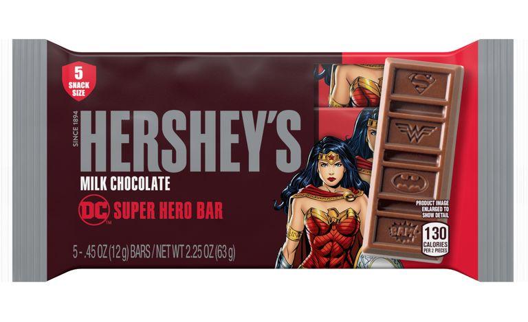 Superhero-Branded Chocolate Bars