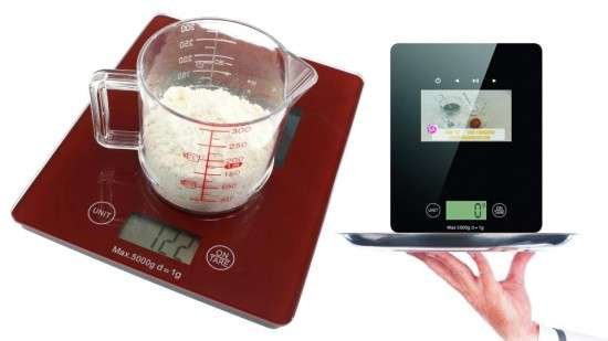 Dual Functioning Kitchen Scales