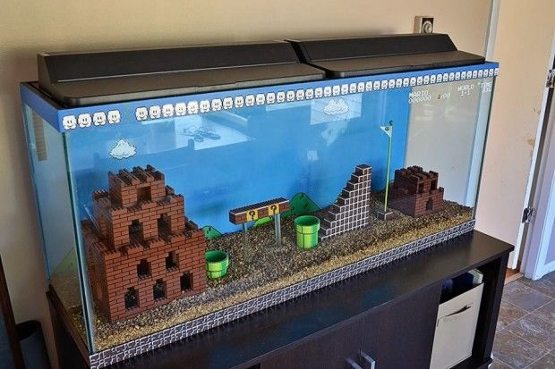 Kitchen Island Fish Tank 45 modern aquarium designs