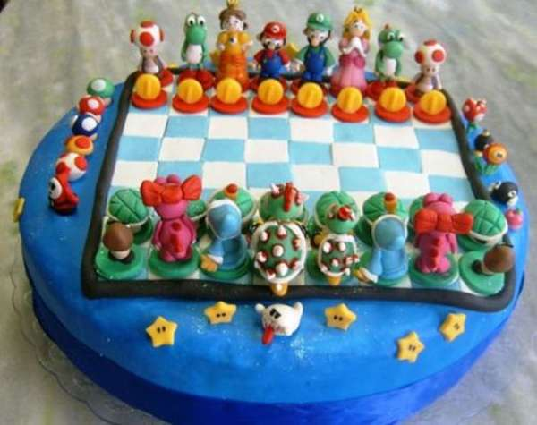 Incredible Gamer Cakes Super Mario Bros Cake