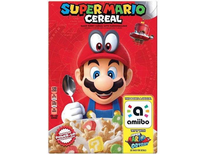 Video Game-Celebrating Cereals