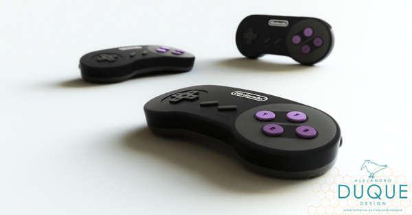 Modernized Retro Console Designs