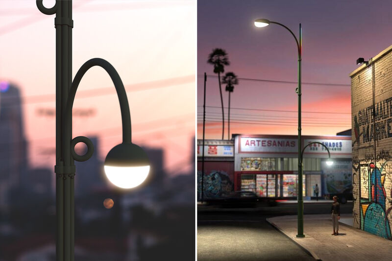 Modular Urban Infrastructure Streetlights