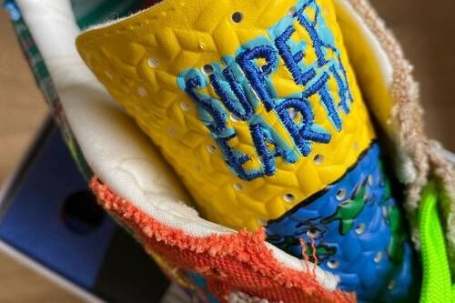 Sustainable Colorful Chunky Footwear
