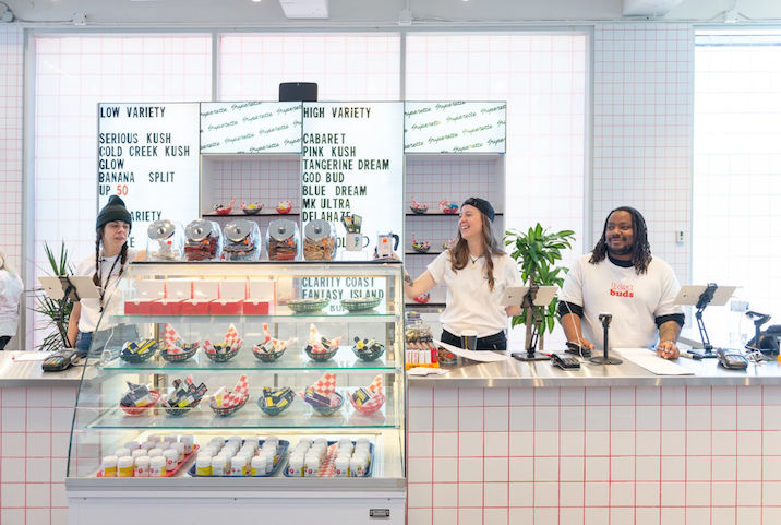 Diner-Style Cannabis Shops