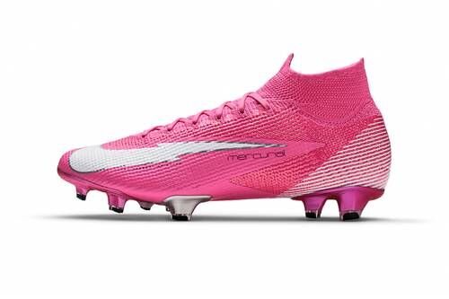 Bright Pink Football Shoes