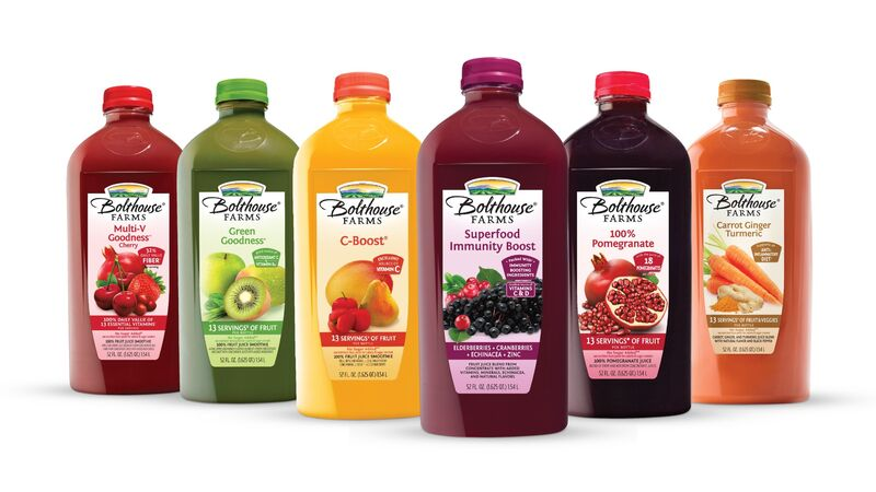 Immune-Boosting Juice Beverages