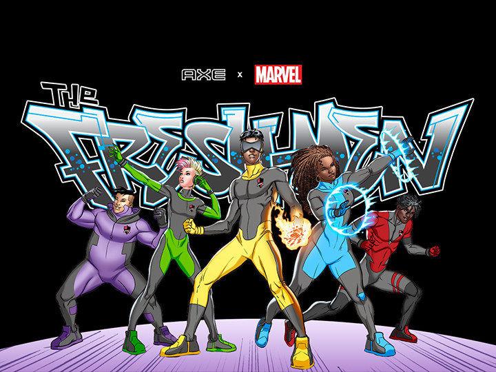 Collaborative Superhero Comics