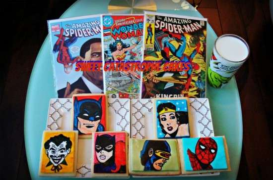 Heroic Comic Book Confections