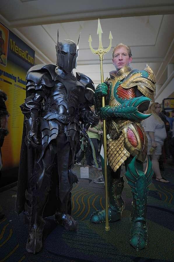 Medieval Superhero Costumes
