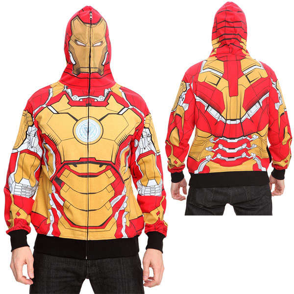 Striking Superhero Hoodies