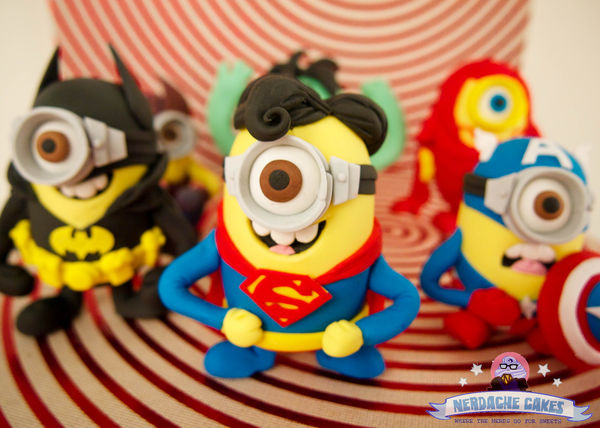 Superhero Minion Confectioneries