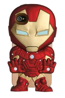 Miniature Superhero Phone Covers