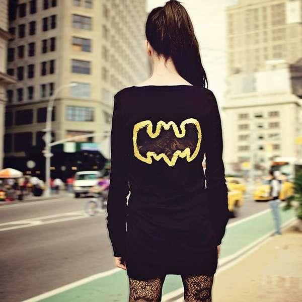 Edgy Superhero Sweaters