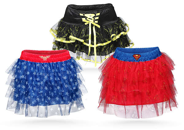 Frilly Superhero Tutus