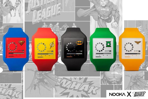 Minimalist Superhero Timepieces