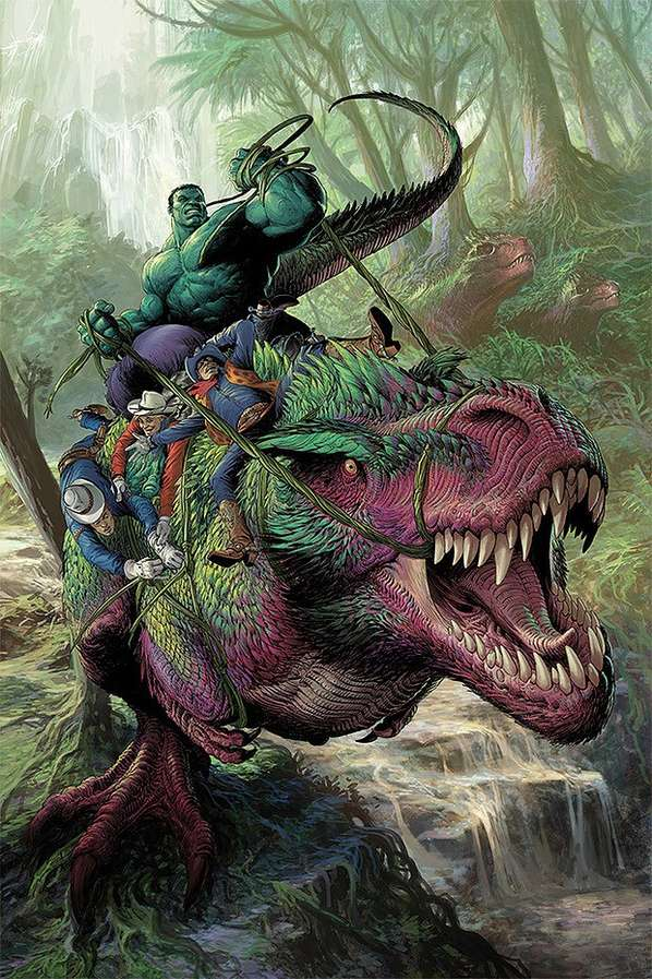 Epic Green Hero Illustrations