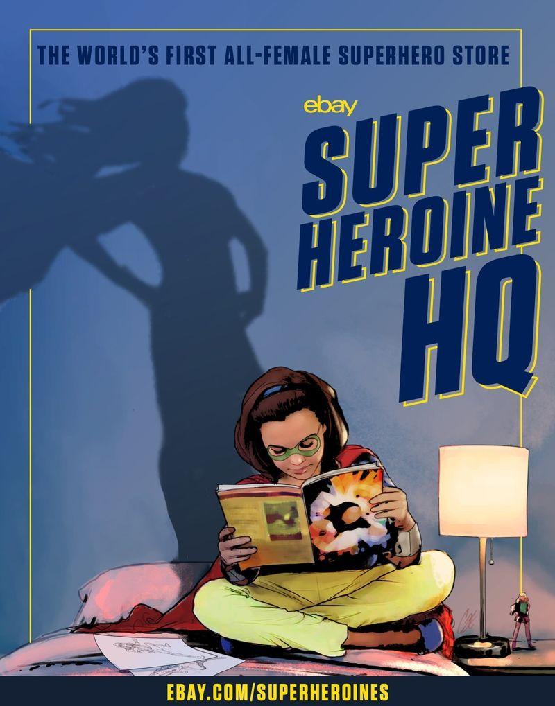Empowering Superheroine Shops