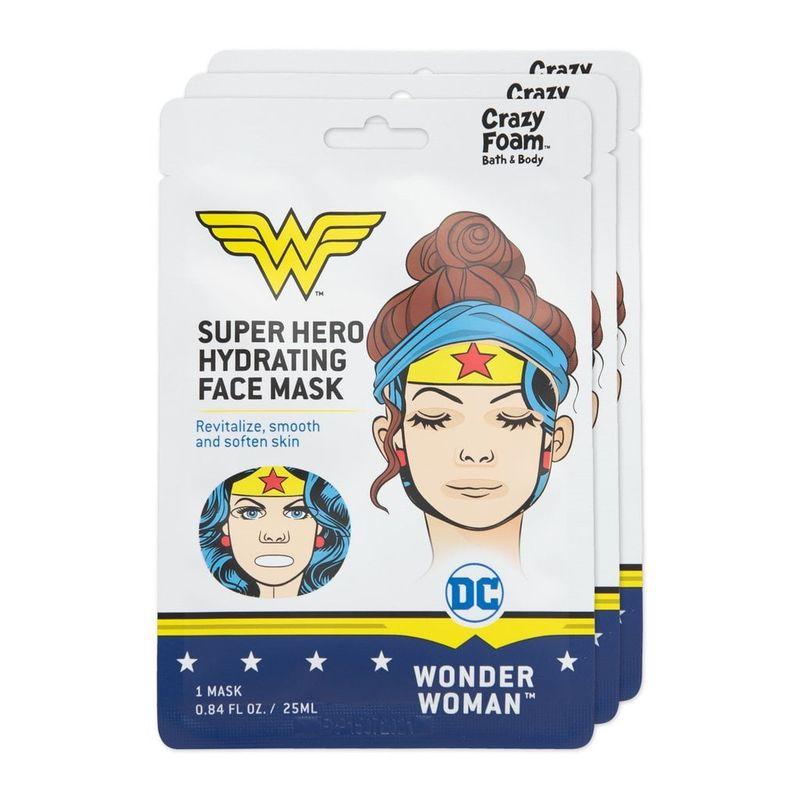 Superheroine Sheet Masks