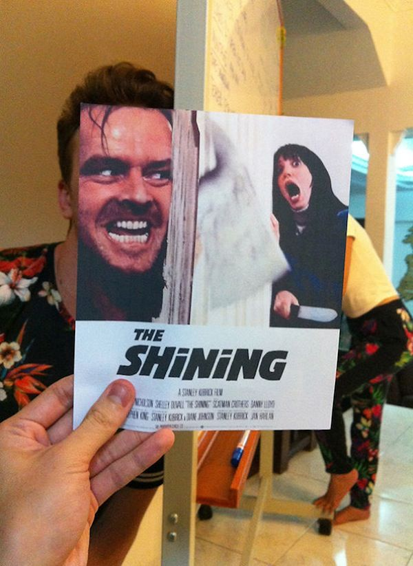 Superimposed Movie Poster Mashups