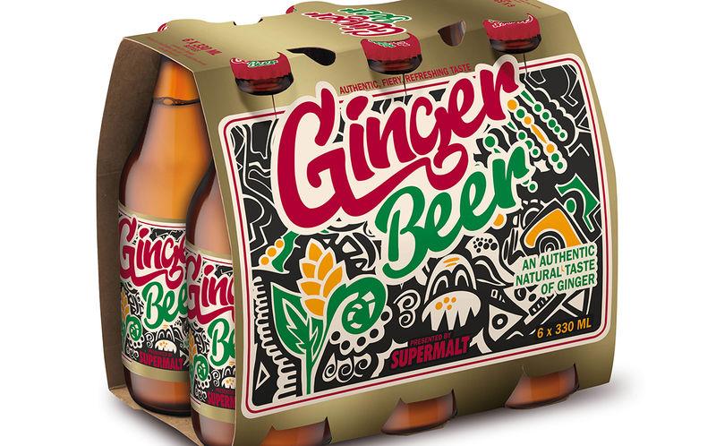 Lemongrass-Infused Ginger Sodas