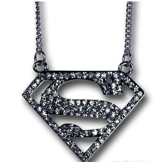 Excessive Superhero Necklaces Superman Symbol