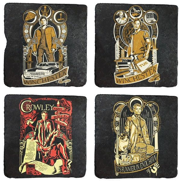 Paranormal Series Drink Coasters