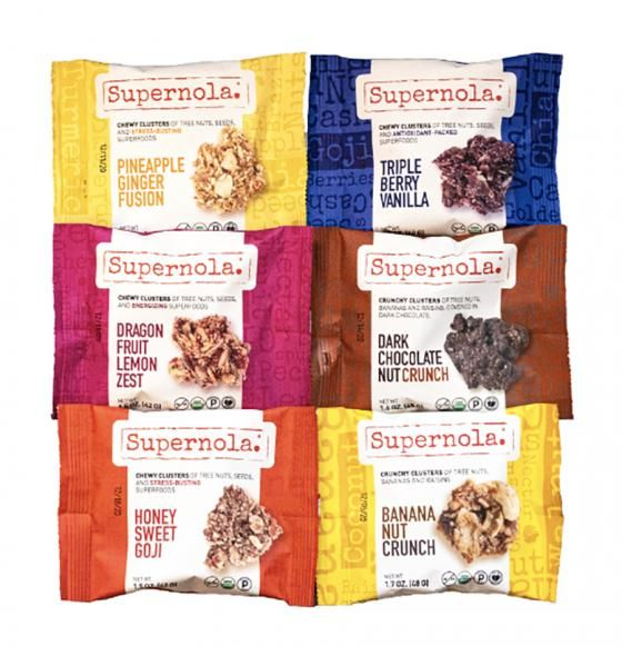Granola-Like Snacking Clusters