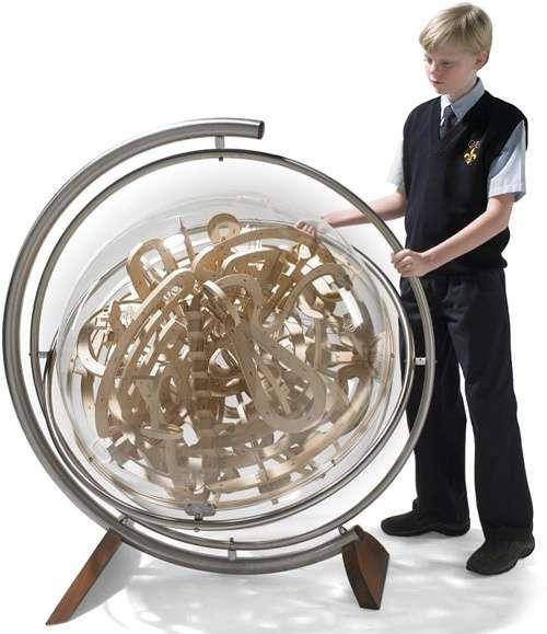 $30,000 Wood Labyrinths