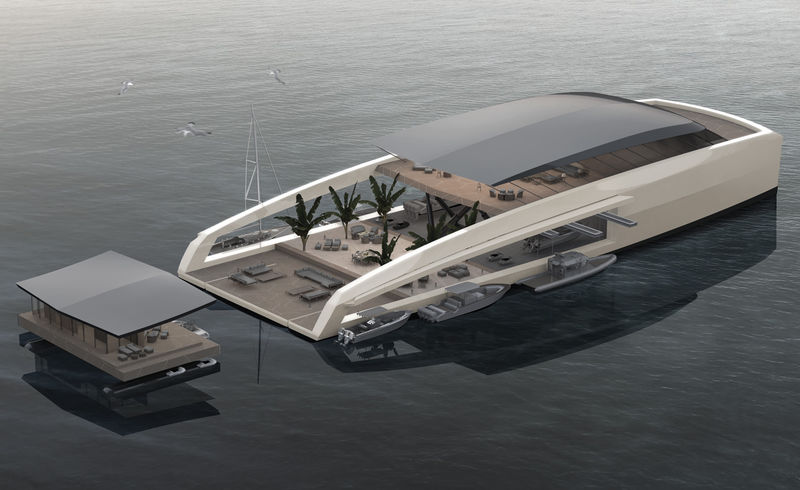 Detachable Superyacht Designs