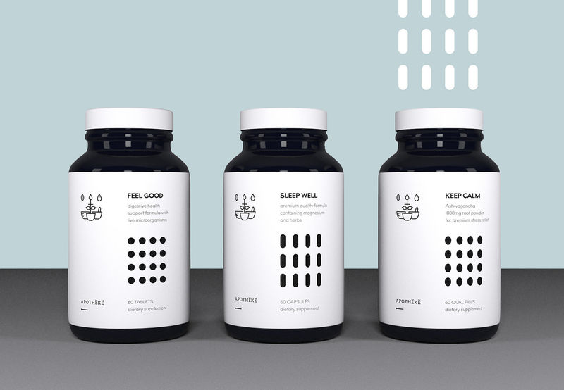 Conceptual Lifestyle Supplements