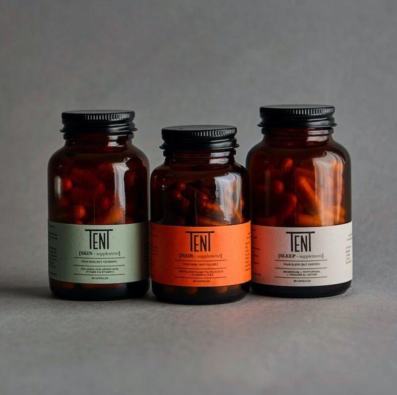 Three-Piece Men's Supplement Kits