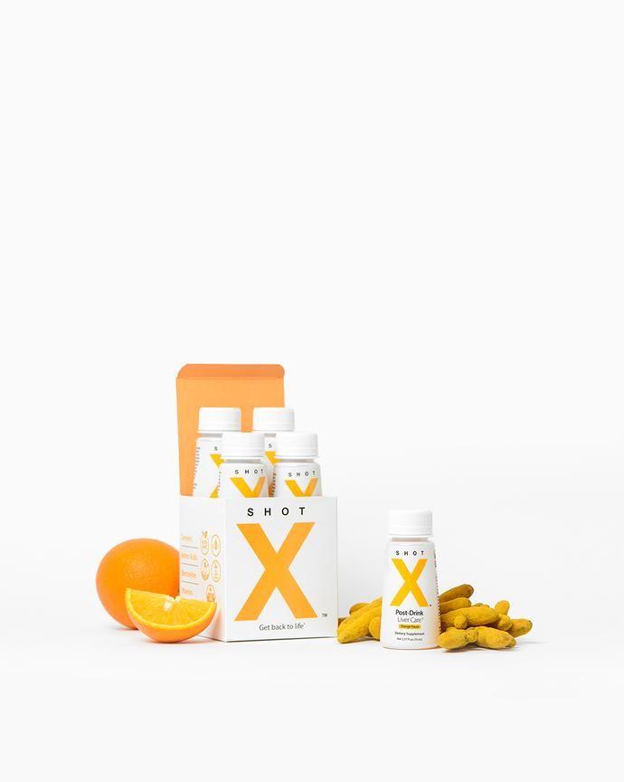 Liver-Detoxifying Supplement Shots