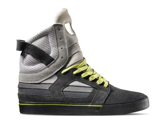 Grayscale High-Tops