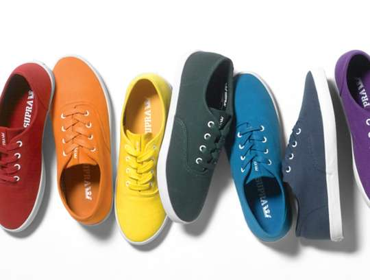Chromatic Casual Footwear