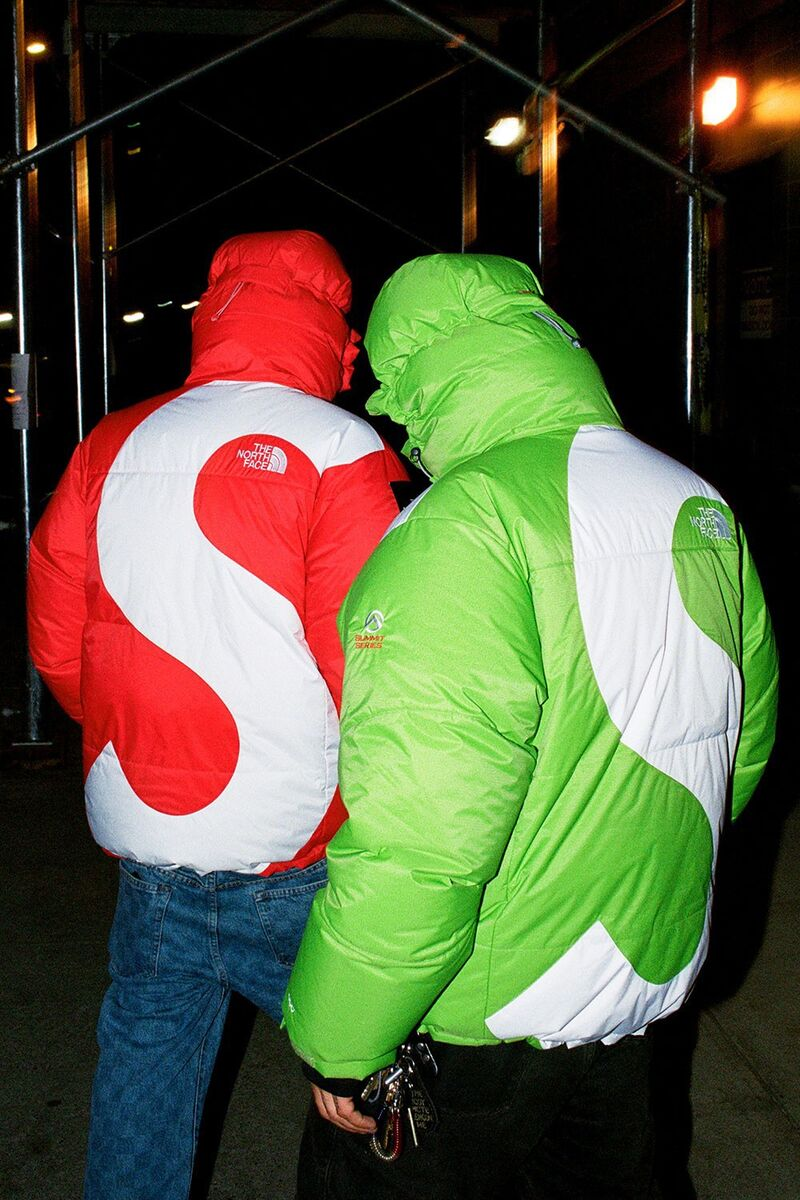 Collaborative Bright Puffer Jackets