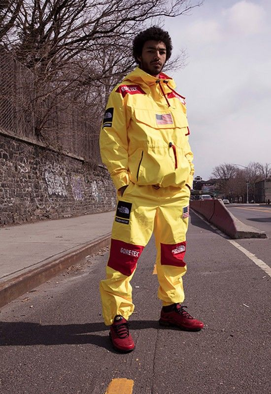 Weather Resistant Streetwear Supreme Collaboration