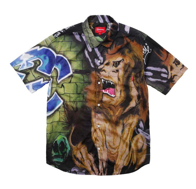 Vividly Printed Streetwear Shirts