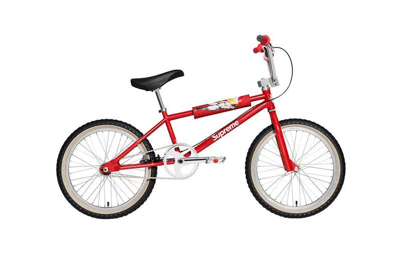 Logo-Clad BMX Streetwear Bikes