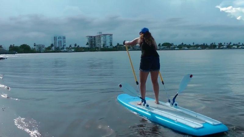 Ski-Enabling Paddleboards