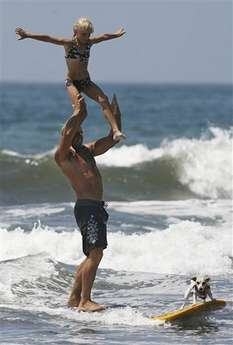 Cali Dog Surfing Competition
