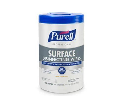 Pro-Grade Sanitizing Wipes