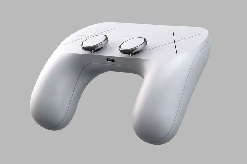 Minimalist Button-Free Gaming Controllers