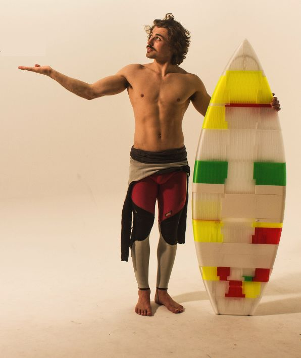 Portable Puzzle Surfboards