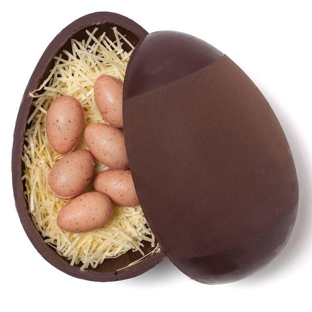 Nest-Like Chocolate Eggs