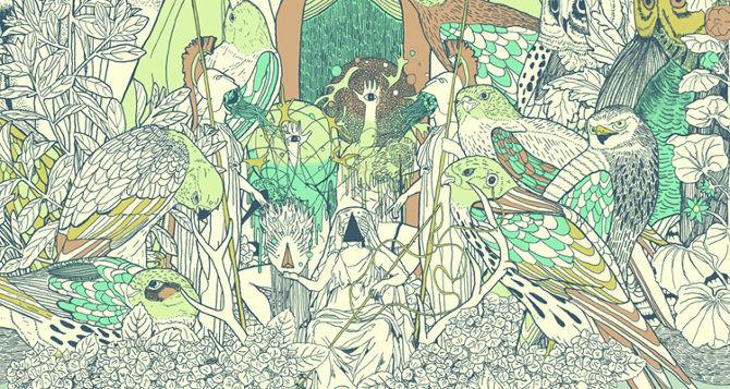 Pastel Pagan Illustrations